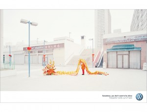 Nick Meek VW Combi Alone Chinatown