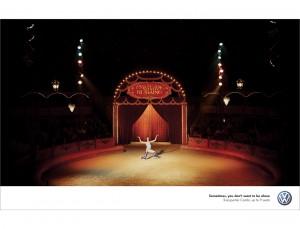Nick Meek VW Combi Alone Circus