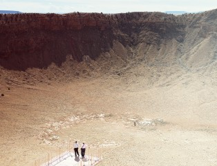 Nick Meek - Meteor crater