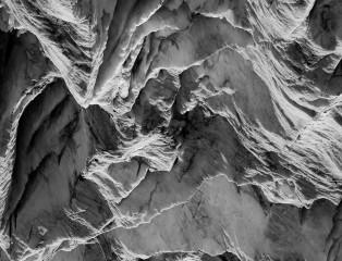 Glacier in Moonlight III