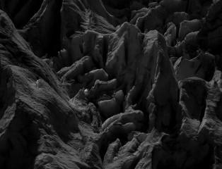 Glacier in Moonlight I
